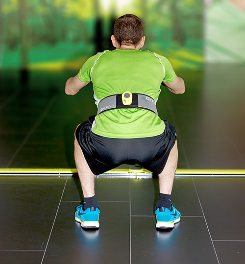 Squat jump with OptoJump Next and Gyko